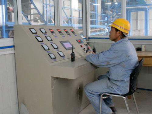 生产线监控室(监控设备)